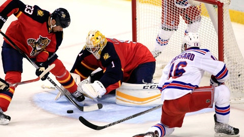 No. 8: Panthers 3, Rangers 0 -- Jan. 2, 2016