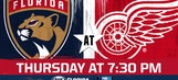 Florida Panthers at Detroit Red Wings game preview