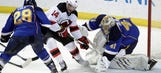 Blues take down Devils, continue to build confidence