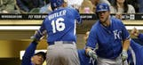 Butler's solo homer in fifth boosts Royals to 5-4 win over Brewers