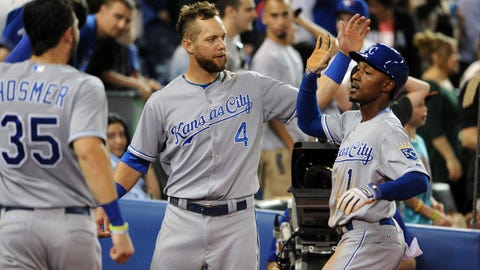 May 29: Royals 8, Blue Jays 6 (10 innings)