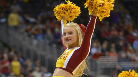 Big 12 hoops cheerleaders 2014-15