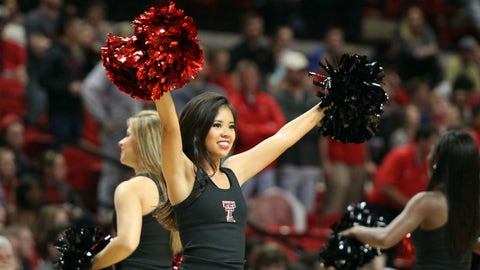 Big 12 hoops cheerleaders 2014-15