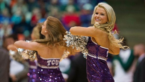 Big 12 hoops cheerleaders