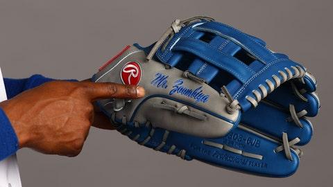 Jarrod Dyson's glove, Mr. Zoombiya