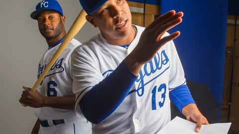 Lorenzo Cain and Sal Perez