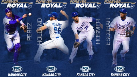 2015 'Forever Royal' pole banners