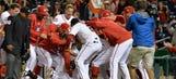 Escobar's 10th-inning dinger lifts Natitude over Cardinals