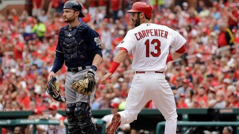 Cardinals 7, Brewers 4