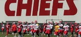 Snapshots from Chiefs OTAs