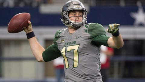 BAYLOR QUATERBACK SETH RUSSELL