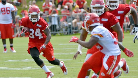 Chiefs training camp 2016
