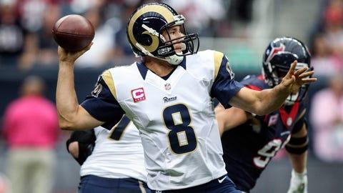 Sam Bradford (first pick, 2010, St. Louis Rams)