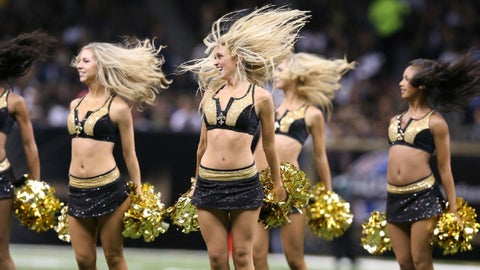 New Orleans Saints cheerleaders
