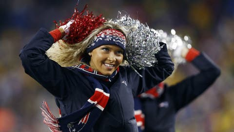 New England Patriots cheerleader