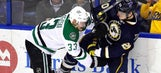 Blues fall one point behind first in NHL with 4-2 loss to Stars
