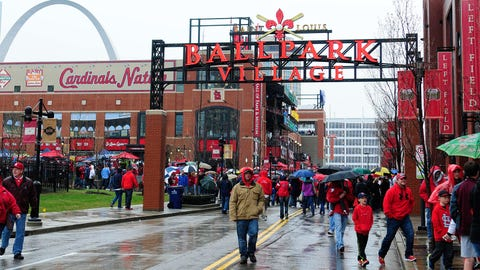 Opening Day in St. Louis