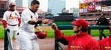 Cardinals refuse to let soggy weather ruin Opening Day in St. Louis