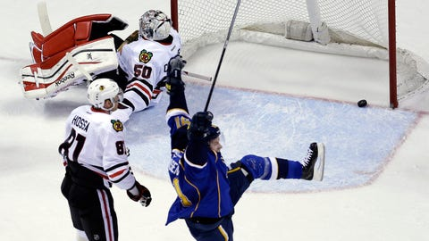 2014 Stanley Cup Playoffs: Blackhawks-Blues Game 1