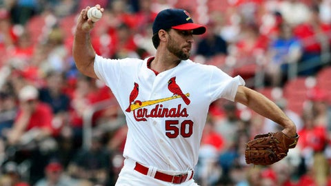 St. Louis Cardinals, 15-14, second place
