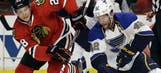 Blues' playoff dreams end in Chicago
