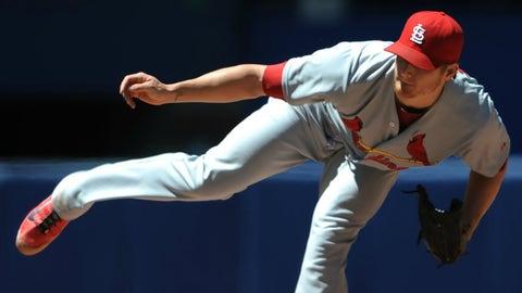 St. Louis Cardinals, 33-31, second place, 5 GB