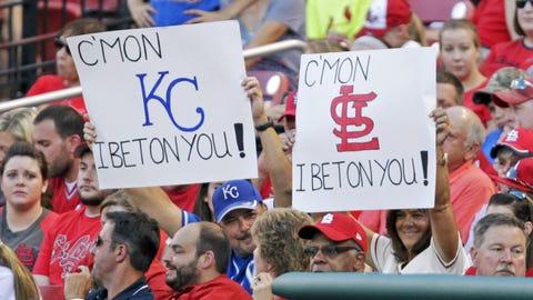Split crowd in Kansas City