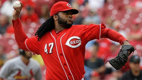 Cueto wins 20 games