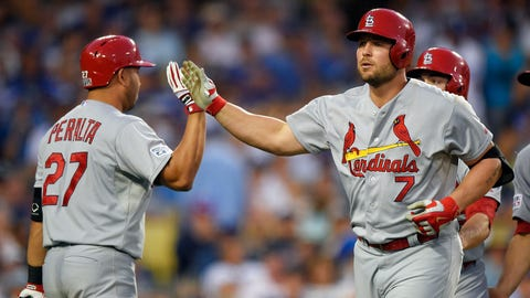 No. 2: Cardinals rock Kershaw -- NLDS Game 1, Oct. 3