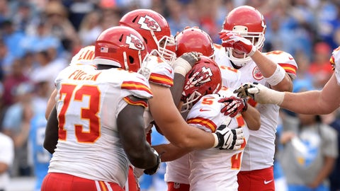 K: Kansas City Chiefs, Cairo Santos: 5-8, 160 pounds