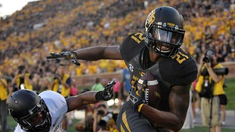 Wide receiver: Bud Sasser, Missouri Tigers