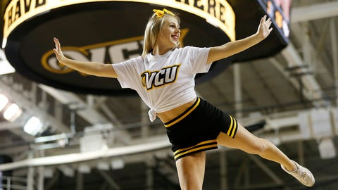 College Basketball Cheerleaders 2014-15
