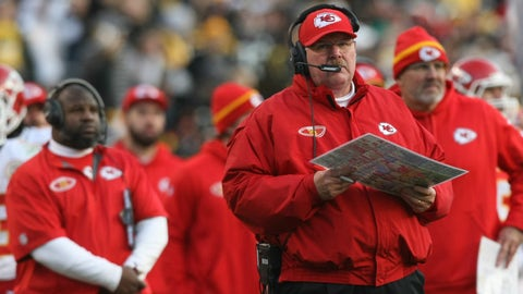 Kansas City Chiefs (9-3): A late-game Andy Reid clock management blunder
