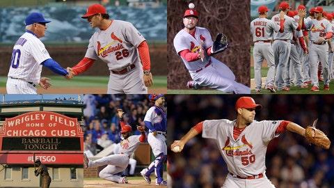 Cardinals 3, Cubs 0