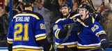 Win over Blackhawks a sweet way for Blues to clinch ninth division title