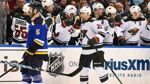 Game 5: Wild at Blues