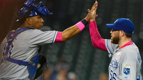 Royals at Tigers