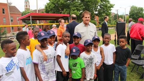 Tony La Russa Field Dedication