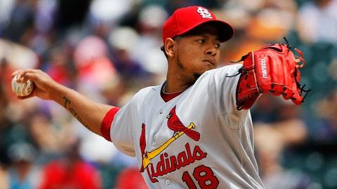 Cardinals-Rockies series finale