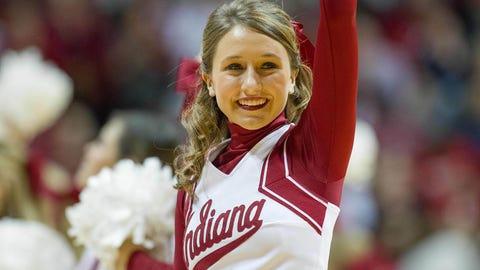 2015-16 NCAA basketball cheerleaders