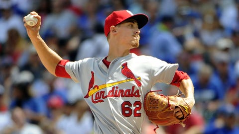 Cardinals recall Luke Weaver; option Mayers