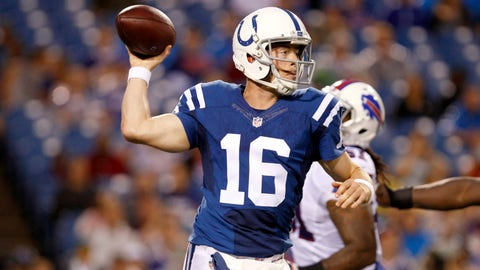 Scott Tolzien, QB, Indianapolis Colts