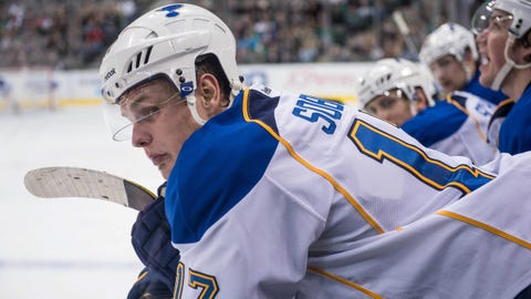 Tarasenko, Sobotka lift Blues over NHL-worst Avalanche