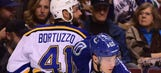 Bortuzzo practices with Blues, could return to lineup this week