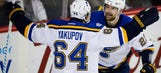 Blues' offense hopes to get back on track against struggling Stars