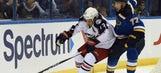 Blues send Brad Hunt back to AHL Chicago Wolves