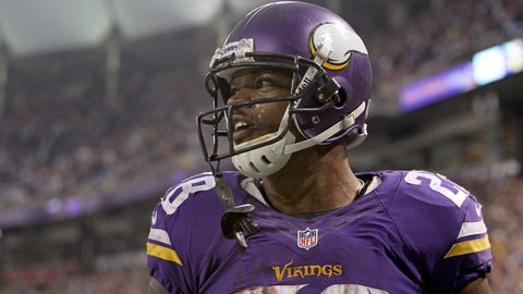 Adrian Peterson has something to sell