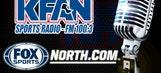KFAN on FOX Sports North, 10:55 a.m.