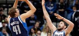Timberwolves' second-half charge falls short against Mavericks