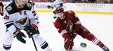 Coyotes send Kennedy, Murphy to AHL